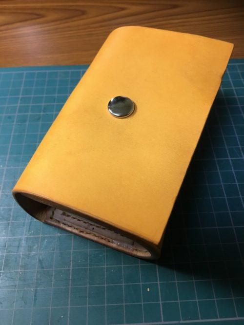 【レザークラフト】今流行りのアイコスのケースを作ってみました!作り方・ポケット部分の寸法紹介します!